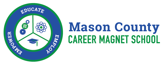 Mason County Career Magnet School Logo - Educate - Empower - Employ
