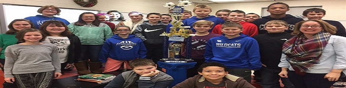 Attendance winner for the month of December was Mrs. McDowell's homeroom.